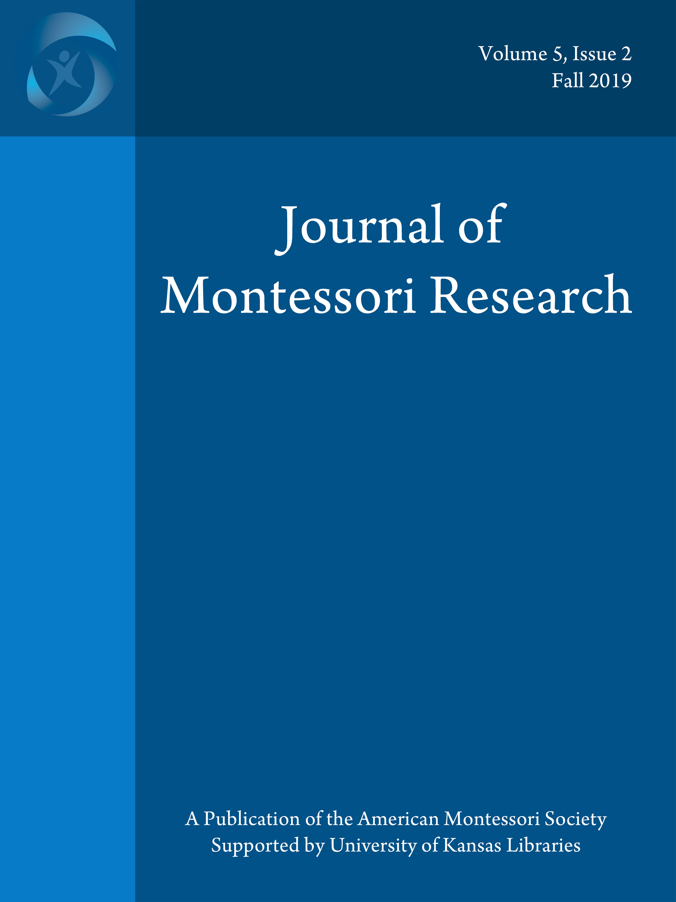 Cover of Journal of Montessori Research